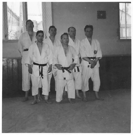Mike O Neill, Danny Garland, Ron Singleton, Mr Otani, Ted Thompson, Roy Ward